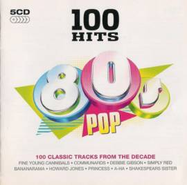 VA - 100 Hits 80's Pop (5CD) (2008) MP3
