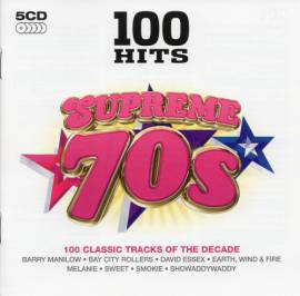 VA - 100 Hits: Supreme 70s [5CD] (2014) MP3