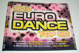 VA - 90's Euro Dance Top 50 [3CD] (2007) MP3