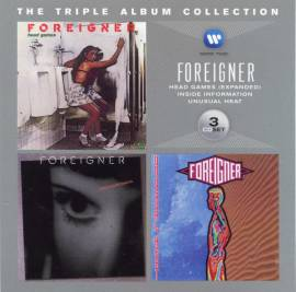 Foreigner - The Triple Album Collection (1979-1991) [3CD] (2012) FLAC