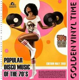 VA - Golden Vinil Time: Popular Disco Music Of The 70s (2019) MP3